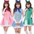 New Anime Arrival Love Live Kousaka Honoka Umi Sonoda Minami Kotori Cosplay Costume Start Dash Lolita Dress In Stock YM001