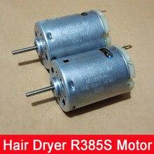 Hair Dryer Blower 12-36V R385S DC Motor High Speed Strong Magnetic Brand Motor