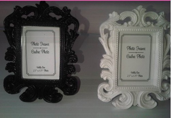 Fine-300pcs-lot-White-Baroque-photo-frame-wedding-place-card-holder-picture-frames (5)