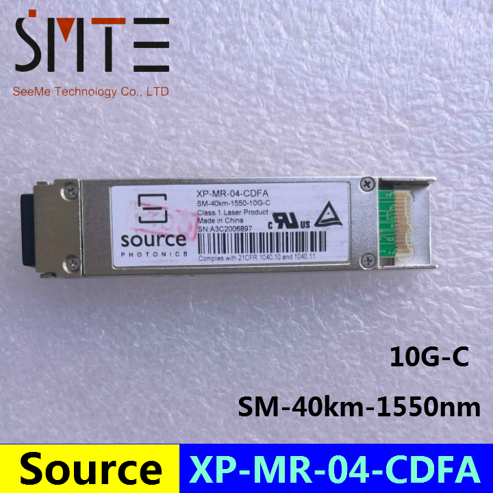 Source XP-MR-04-CDFA SM-40km-1550nm-10G-C Optical Transceiver   Single-mode ModuleSource XP-MR-04-CDFA SM-40km-1550nm-10G-C Optical Transceiver   Single-mode Module