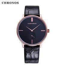 CHRONOS часы для пары, роскошные повседневные кварцевые наручные часы, водонепроницаемые мужские и женские часы для влюбленных, Relogio Masculino Reloj Mujer