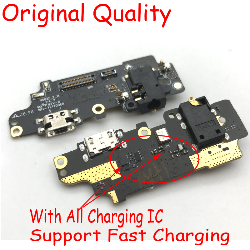 New For Meizu M2 M3 M5 M6 Note M6s Dock Connector Micro USB Charging Port Microphone Vibrator Motor Board Flex Cable