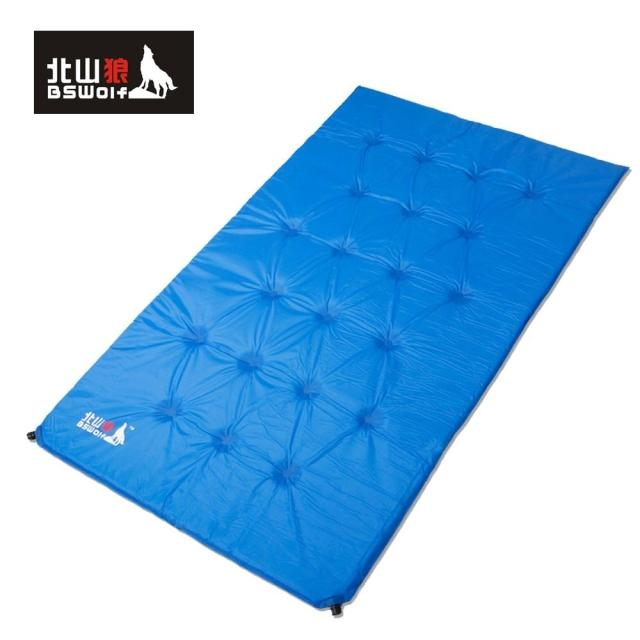 Inflatable cushion double outdoor cushions tent mat moisture-proof pad harlem hl 305 foldable outdoor damp proof honeycomb massage xpe foam pad cushion blue 2pcs