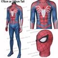 Hero Catcher For 170cm Tall PS4 Spiderman Costume Insomniac Spider Man Costume