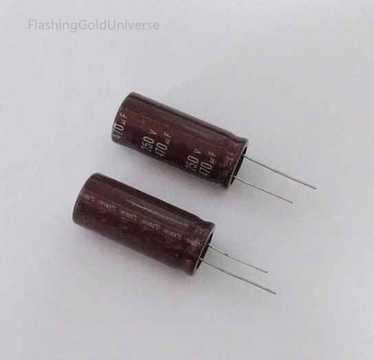 250V 470UF 470UF 250V   Electrolytic Capacitor  volume 18X35.40 best quality New origina