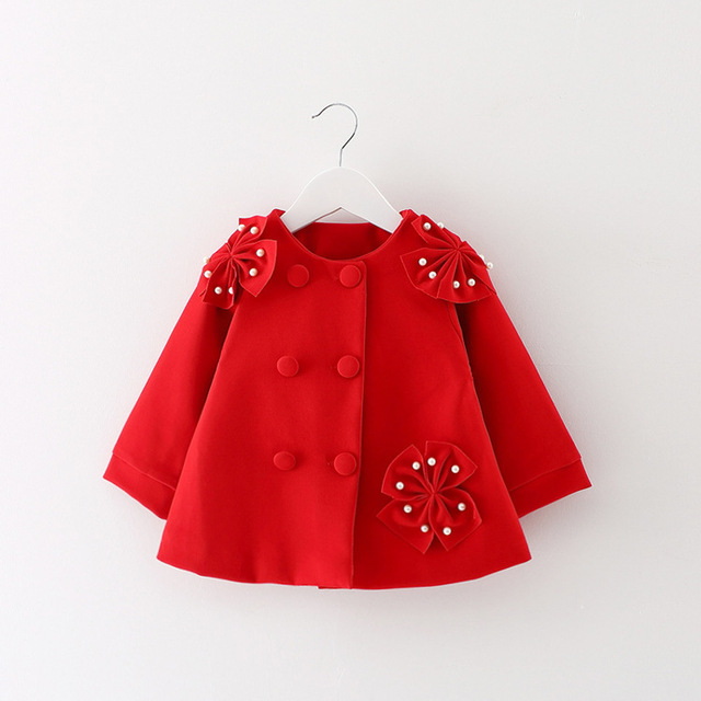 2019 new girls coat winter autumn baby girl cute princess newborn clothes baby coat birthday gift