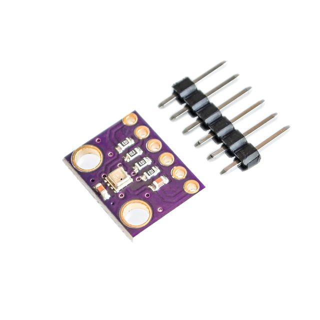 BME280 GY-BME280 Digital Sensor SPI I2C Humidity Temperature and Barometric Pressure Sensor Module 1.8-5V DC High Precision