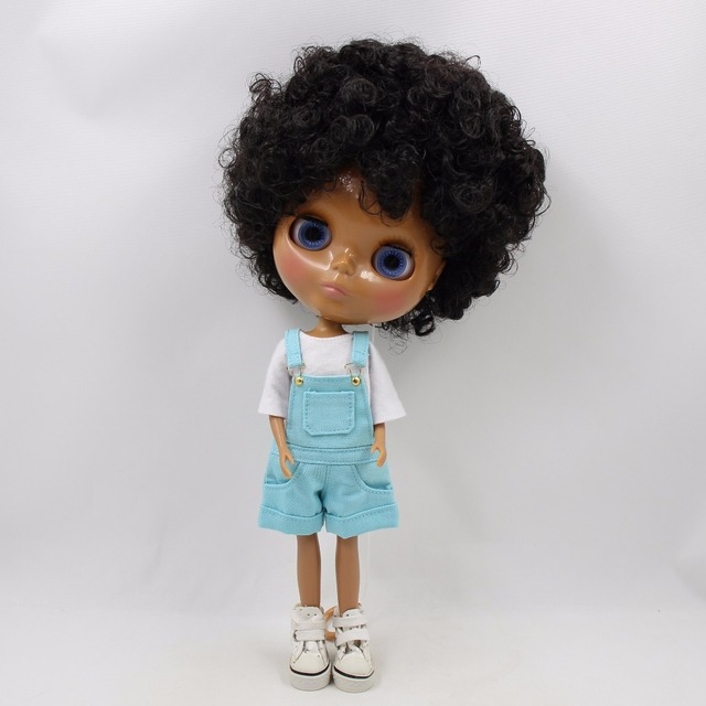 Neo Blythe Doll Jumpsuit With Shirt