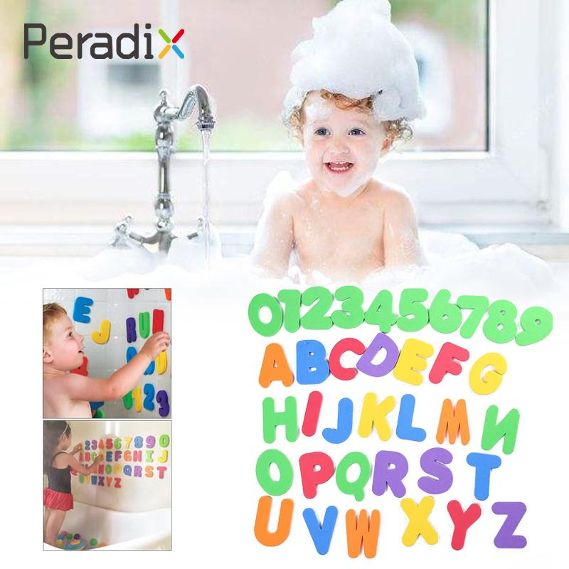 36Pcs/set Random Children Education Alphabet Learning Toy Foam Letters Numbers Toy Early Education Puzzle Alphabet Puzzle Toy