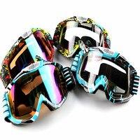 2018 New Fashion Motocross Goggles Unisex Universal Motorbike Helmet Glasses Off Road Ski MTB Motorcycle Oculos