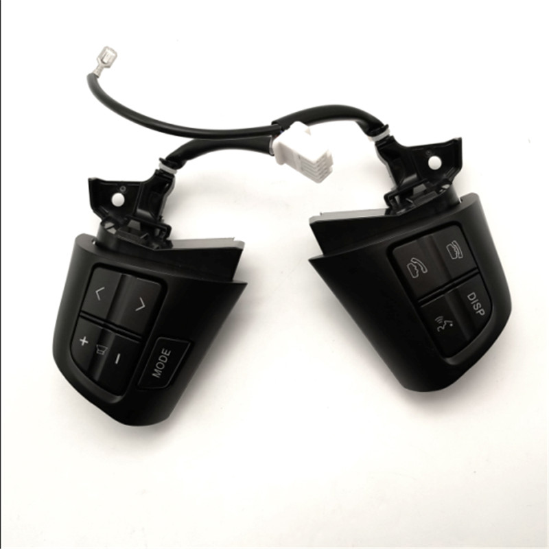 For Toyota Corolla 2011 2013 for Toyota RAV4 2012 Multi function steering wheel button in black