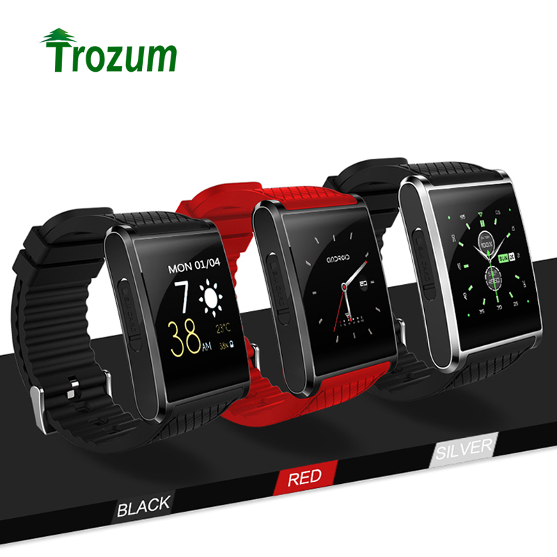 Trozum New Android 5.1 Smartwatch X11 MTK6580 Smart Watch With 3G Bluetooth Pedometer 2MP Camera WIFI GPS for Xiaomi Huawei android 5 1 smartwatch x11 smart watch mtk6580 with pedometer camera 5 0m 3g wifi gps wifi positioning sos card movement watch