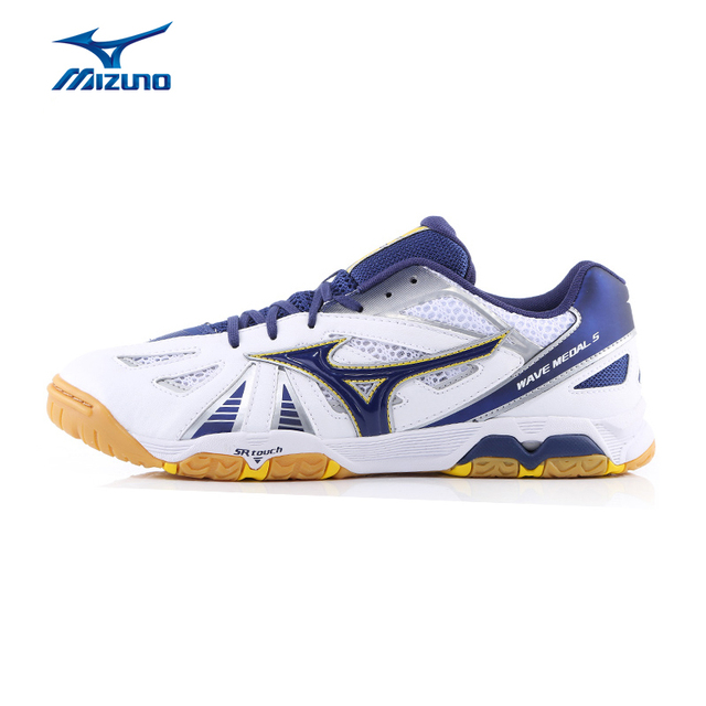 7c26798ca MIZUNO WAVE Hombres MEDALLA 5 de Tenis de Mesa Zapatos DMX Amortiguación  Transpirable Zapatillas de deporte