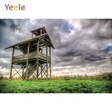 Yeele Landscape Photocall Chalet Fade Grunge Cloud Photography Backdrops Personalized Photographic Backgrounds For Photo Studio