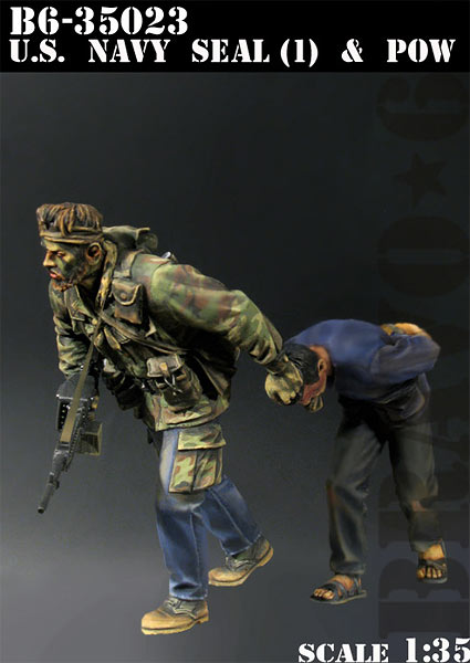 1/35 resin figures model kit Vietnam War US soldiers (2pcs/lot) Unpainted XD161 image