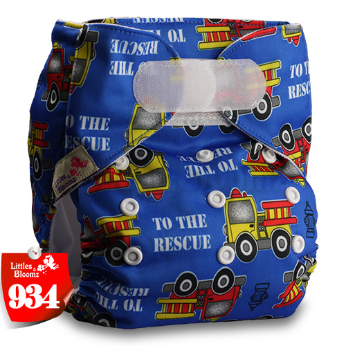 [Littles&Bloomz] Один размер многоразовые тканевые подгузники Моющиеся Водонепроницаемые Детские карманные подгузники стандартная застежка на липучке - Цвет: 934