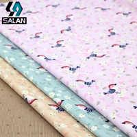 Хлопок magpie набивная саржа ткань для постельного белья ткань цветочная ткань для рукоделия текстильные материалы
