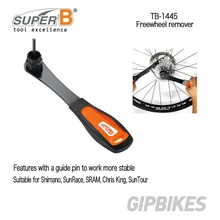 Super B Cycling Repair Freewheel Tools Kit for Cassette Remover Center Lock Disc Brakes Installer TB-1445