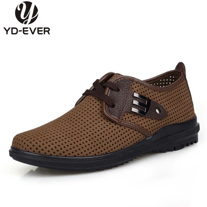 Preiswert Kaufen Neue Echtes Leder Plus Größe Männer Schuhe, Atmungsaktiv Lässige Schuhe, Business Schuhe, Mokassin Weiche Slipper E88, Großhandel Gute WäRmeerhaltung