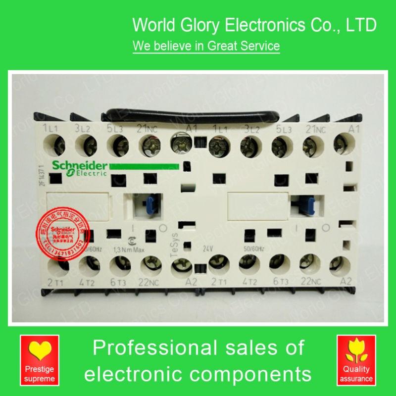 LC2K Series Contactor LC2K12105 LC2K12105D7 LC2-K12105D7 42V AC new cad50bdc dc24v tesys d series contactor control relay 5no 0nc