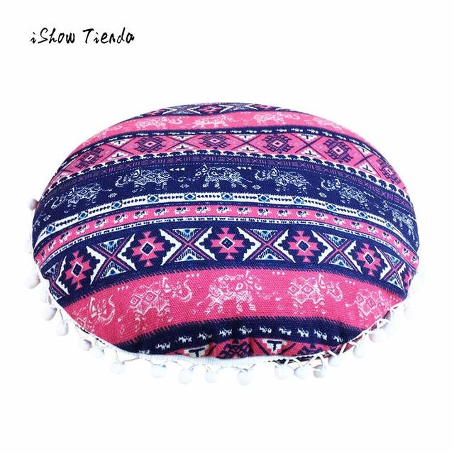 40 X 40CM Home Floor Cushion Cover Indian Mandala Floor Pillows Round Bohemian Cushion Pillows Cover Case Cushion Floor Pillow-in Cushion Cover from ...