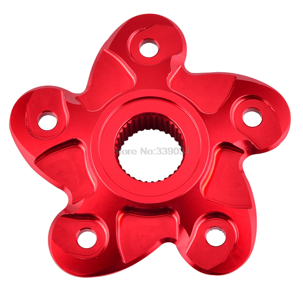 NICECNC Rear Sprocket Cover Flange For Ducati Hypermotard Monster 796 1100 S2R S4R S4RS 748 848 996 916 998 Streetfight MH900E