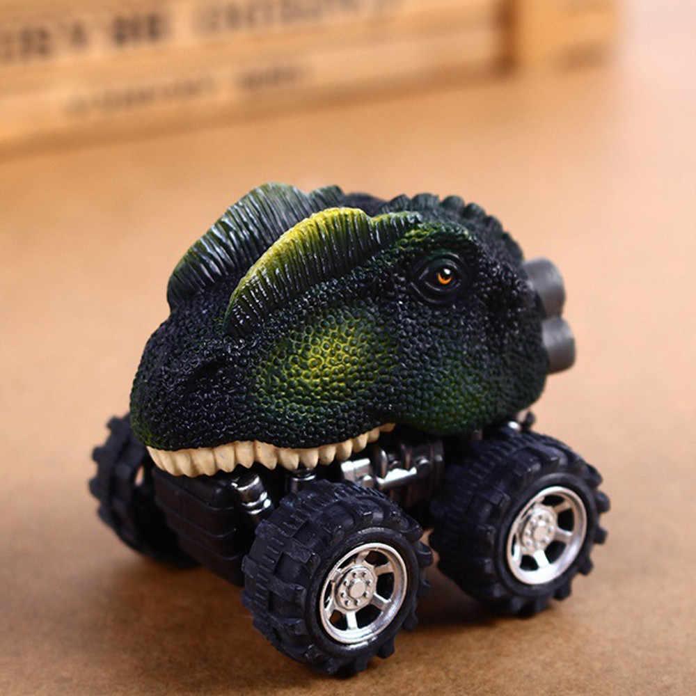 ילדים של יום מתנת צעצוע דינוזאור מודל מיני צעצוע מכונית האחורי של רכב מתנה משאית תחביב Funn