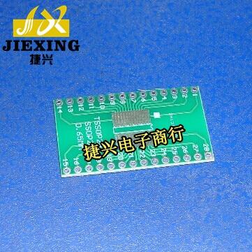 Пластырь SSOP28 / TSSOP28 в DIP28 для вставки платы преобразователя на 0,65 мм, расстояние 2,54 футов