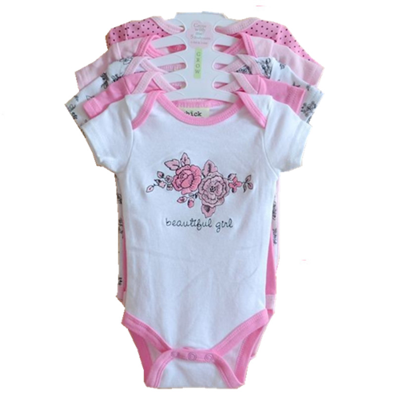 New 2017 Summer Baby Rompers Short Sleeves Clothing Newborn Boy Girl 100% Cotton Roupas De Bebe Menino Next Baby Clothes W5-01 newborn baby rompers baby clothing 100% cotton infant jumpsuit ropa bebe long sleeve girl boys rompers costumes baby romper