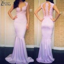 LAYOUT NICEB SHJ772 Simpe Evening Dress 2019 Prom Dress