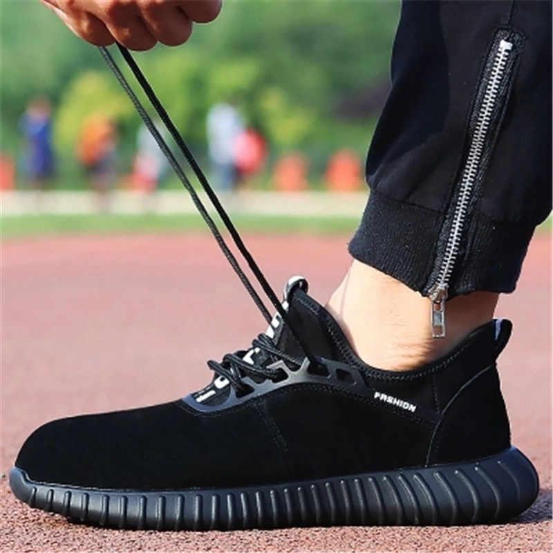 Men's Steel Toe Puncture proof Male