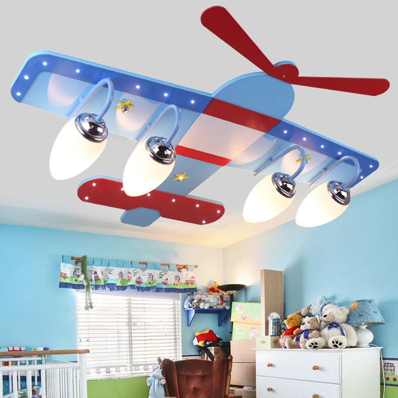Children toy pendant lights Kids room to absorb dome light lamps and lanterns cartoon children bedroom light plane LED lamps ZA led suction dome light fashion cartoon study bedroom children s room lights