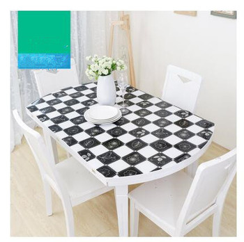 Soft Glass PVC Tablecloth Waterproof Party Home Kitchen Dining Room Placemat Pad Thickness 1.0mm Home Decoration Toalha De Mesa