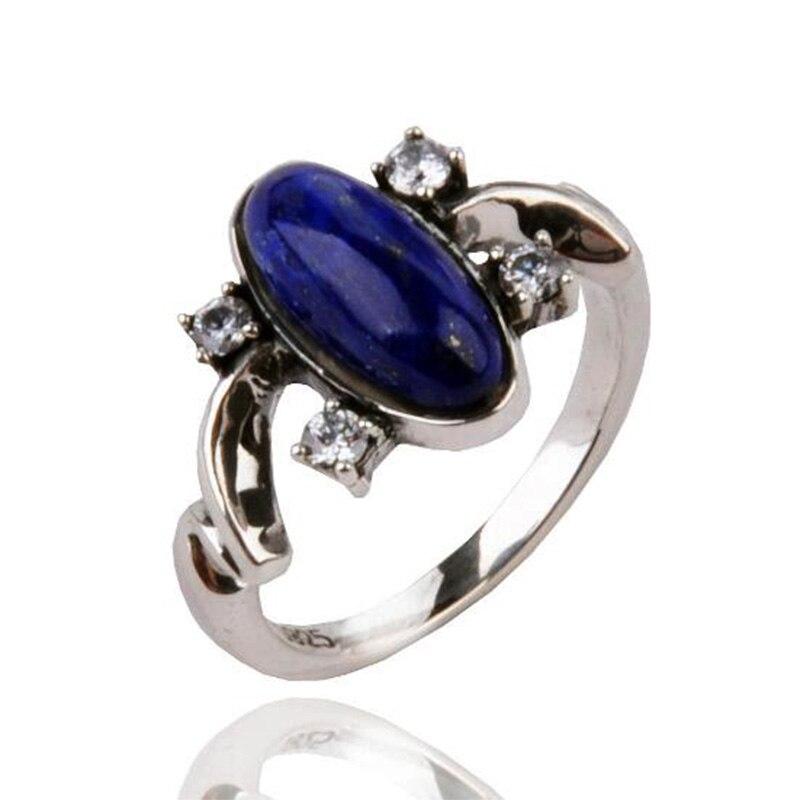 Le Vampire Diaries Elena Anti soleil antique 925 en argent Sterling anneau cadeau pour les Fans film bijoux anneaux livraison directe Cool