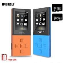 2020 บลูทูธ 4.0 MP3 RUIZU X18 กีฬา MP3 Player 8G สามารถเล่น 100 ชั่วโมงคุณภาพสูงแบบ lossless FM Bluetooth 4.0