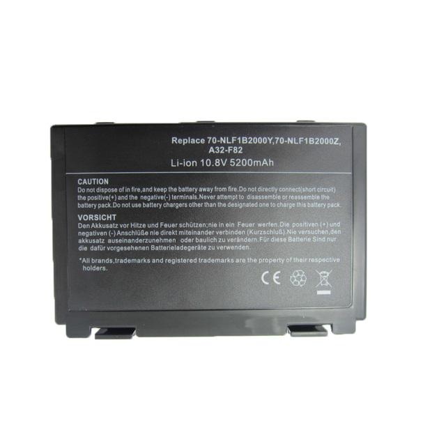 K50in bateria de 6 células para asus k40/f82/A32/F52/K50/K60 A32-F82 L0690L6 k40in k40af k50ij