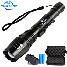 18000LM LED Flashlight Ultra Bright Rechargeable Torch linterna Led Adjustable for Camping Hiking Emergency use 18650