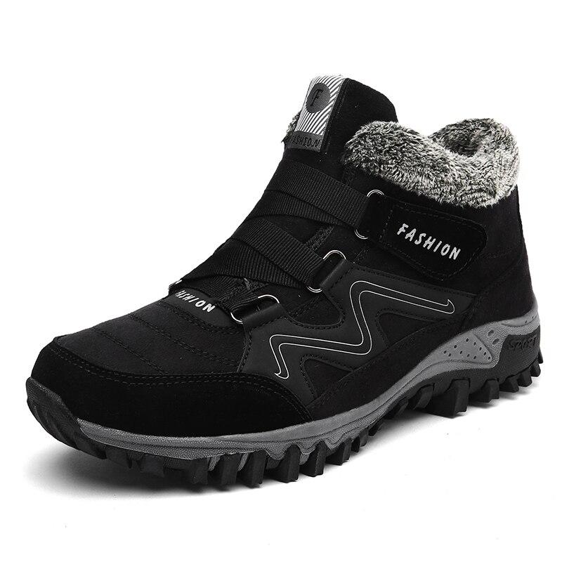 Winter Men Faux Suede font b Boots b font Casual Men Leather Moccasin Brand Winter Men