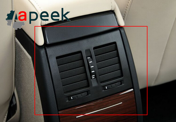FOR 2007-2014 Skoda / Octavia / 2015new Octavia / armrest box outlet / rear vents / rear air outlet