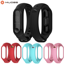Mi Band 3 4 Silicone Wrist Strap Accessories for Xiaomi Smart Watch Bracelet Band3 Sport Wristbands Miband