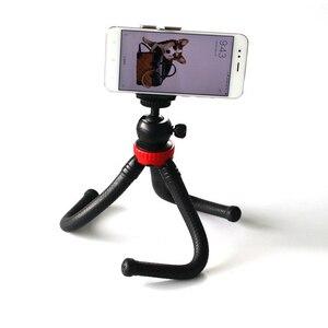 Image 2 - Esnek ahtapot büyük Tripod standı multi fonksiyonel Mini kamera Tripod Gopro 9 8 7 6 5 DJI Osmo eylem kamera aksesuarları