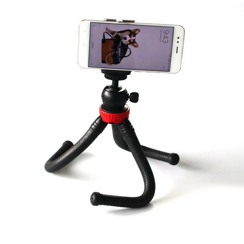 Flexible Octopus Large Tripod Stand  Multi-functional Mini Camera Tripod For Gopro Digital Camera Smartphone Accessories
