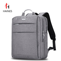 HAINES Backpack 14 Inch Laptop Classic Business Backpacks Men Women Notebook Bags Multi Function Travel Oxford