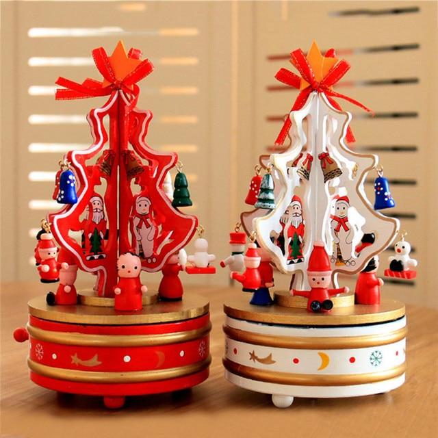 Spieluhr Weihnachten.Us 16 98 Weihnachtsbaum Spieluhr Drehen Musicbox Diy Uhrwerk Spieluhr Weihnachten Muster Schönes Weihnachtsgeschenk Für Kinder Größe 11 11 21 Cm