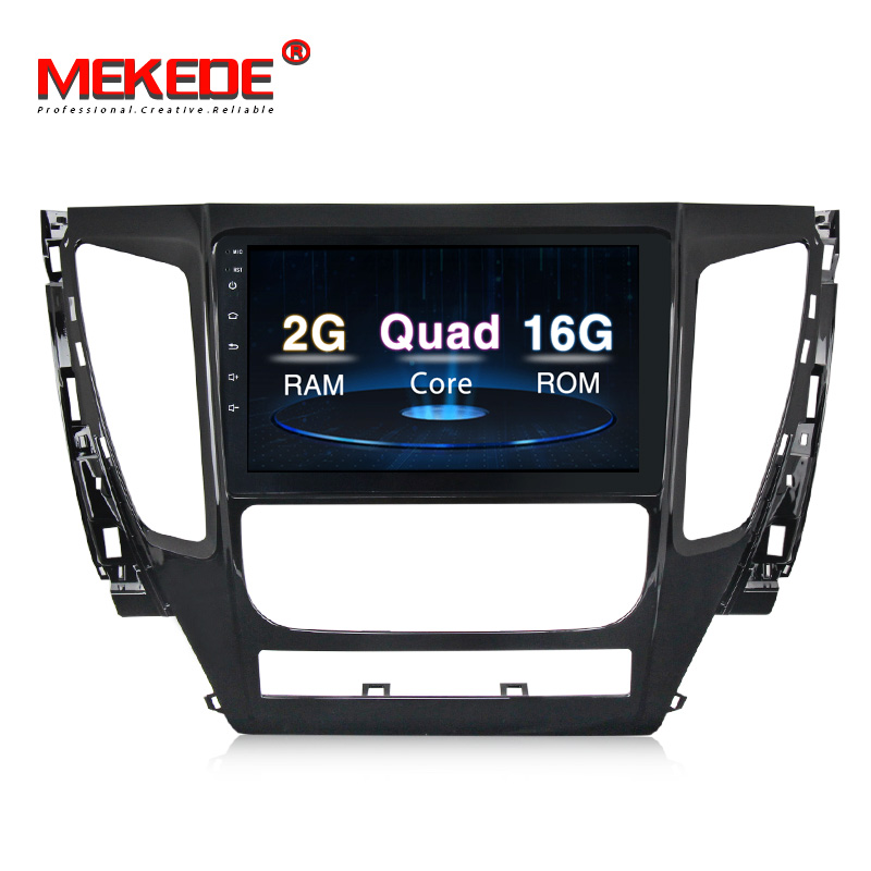 9''T3 Androud7.1 System 16G ROM Car Audio for MITSUBISHI PAJERO Sport 2016 2017 2018 Autostereo Radio Multimedia support T8 32G