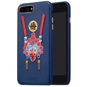 Image 1 - Nillkin brocade 중국 스타일 케이스 아이폰 7 커버 pu 가죽 빈티지 뒷면 커버 아이폰 7 플러스 케이스 애플 4.7 & 5.5