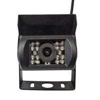 For BUS Truck Rear View CCD parking Camera 15m/20m video cable and 18 IR lights Night vision Waterproof Camera