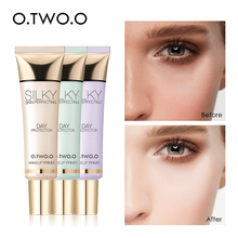 O. TWO. O, праймер для макияжа, Осветляющий ровный тон кожи, консилер, невидимые поры, увлажняющий, стойкий, контроль жирности, основа для макияжа