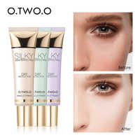 O.TWO.O Makeup Primer Brighten Even Skin Tone Concealer Invisible Pores Moisturzing Long Lasting Oil Control Makeup Base