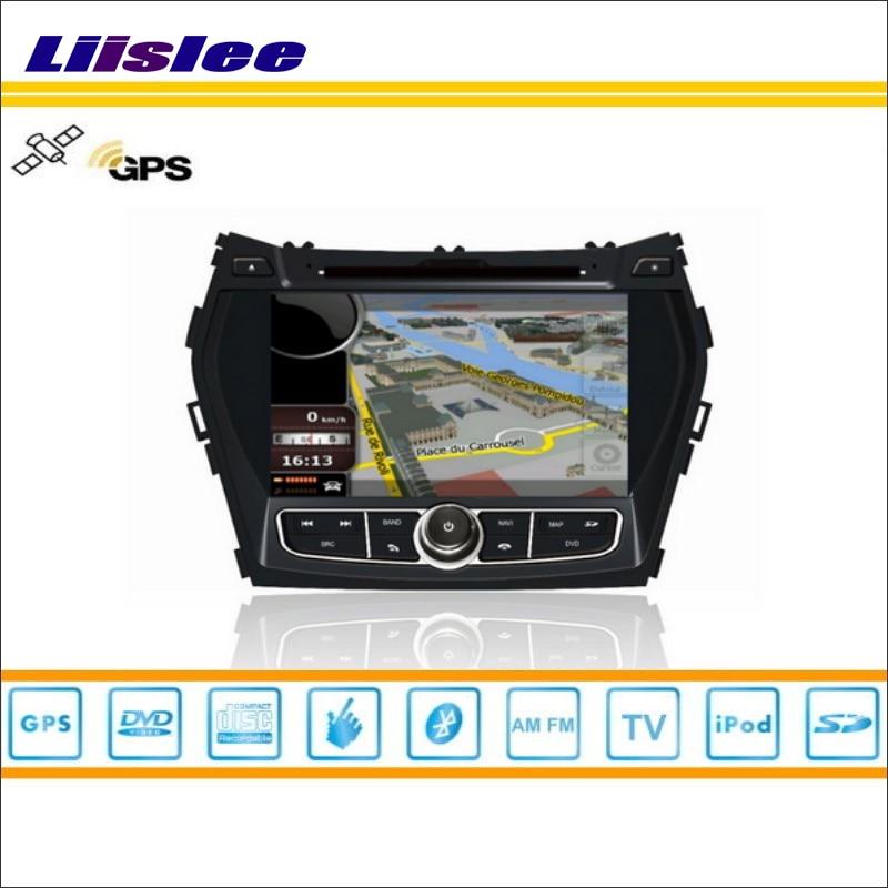 Liislee For Hyundai ix45 2013~2014 Car DVD Player GPS Nav Navi Navigation Radio Stereo CD TV iPod BT HD Screen Multimedia System